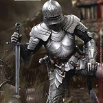 Palm Empires: Gothic Armored Knight<br>(1:12 Scale)