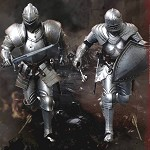 Palm Empires: Bodyguard Knight Double Figure Set<br>(1:12 Scale)