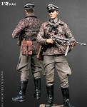 WWII German Panzer Division Major<BR>(1:12 Scale Pocket Elite)