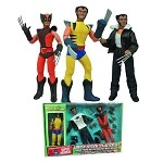 8 Inch Deluxe Wolverine Figure and Outfits Set<BR>(1:9 Scale)