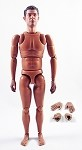 Nude Dixon Figure with Hand Assortment