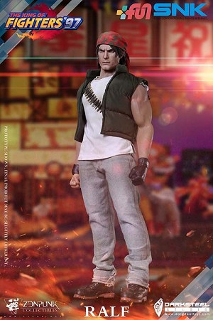 Ralf Jones (King of Fighters '97)<BR>PREORDER: ETA Q4 2021