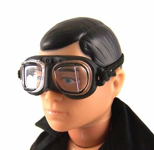 Goggles: Square Lens, Black Edge