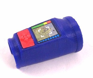 Wrist Communication & Navigation Unit (Blue with Red Pad)