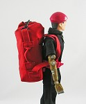 Top Load Duffel Bag (Red)
