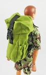 Hiking Backpack<BR>(Commander Green)