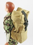 Hiking Backpack<BR>(Khaki)
