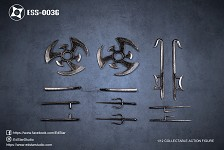 Undead Ninja Army Weapons Set (1:12 Scale)<BR>PRE-ORDER: ETA Q4 2021