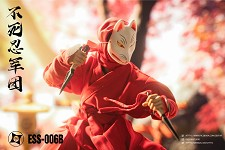 Ninja Outfit & Accessory Set (Red)<BR>PRE-ORDER: ETA Q1 2021