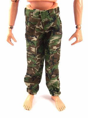 Trousers: Woodland Camo with Belt Loops