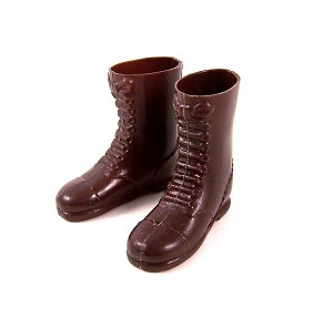 Boots: Tall Brown - 60's Hasbro Style