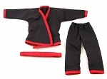 Karate Outfit Set (Black/Red)