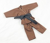 Short Leg Karate Set (Brown)