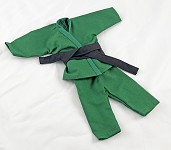 Short Leg Karate Set (Green)
