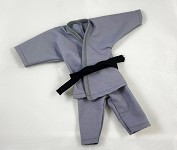 Short Leg Karate Set (Gray)