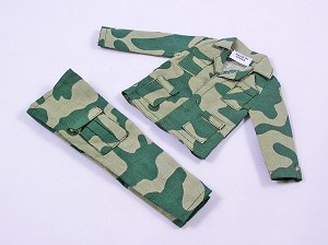 BDU Jacket & Pants - Amoeba Green Camo