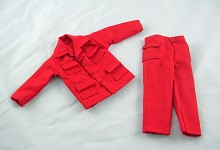 Explorer Shirt & Pants Set (Red)