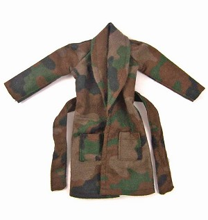 Robe:  Camouflage Flannel