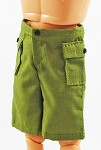 Shorts - Cargo Pockets (Olive Drab)