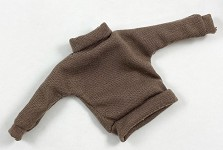 Vintage Style Turtleneck Sweater (Brown)
