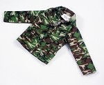 Commando-Style Jacket - Woodland Camo
