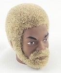 Head - Ray Blonde Fuzzy Hair w/Beard