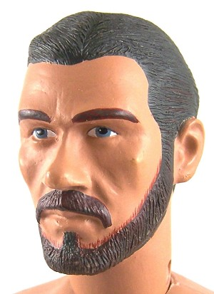 Head - Stefan Brown Painted with Beard (Resin Head)