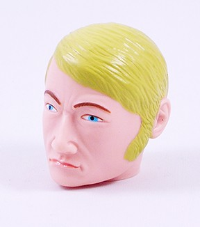 Head - Dirk Blond Painted