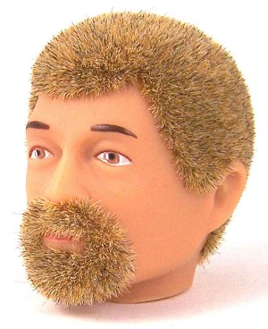 Head - Jake Blond Fuzzy with Goatee<BR>
