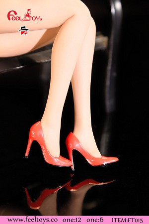 High Heel Shoes (Red)<BR>PRE-ORDER: ETA Q1 2020