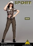 Female Clothing Set (Pants/Green)