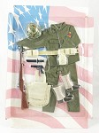 SOTW WWII Armored Force Uniform & Acc. Set (Clamshell Unboxed)