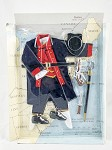 SOTW Revolutionary War Capt. of Continental Navy<BR>Uniform & Acc. Set (Clamshell Unboxed)