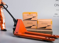 Forklift Set (Orange/Weathered)<BR>PRE-ORDER: ETA Q1 2020