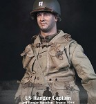 US Ranger Captain (France 1944)<BR>PRE-ORDER: ETA Q1 2020<BR>WAIT LIST