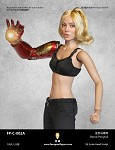Nora Female  Head Sculpt (Blonde Hair) <BR>PRE-ORDER: ETA  Q3 2020