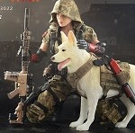 End War Death Squad:  'U' Umir & Dog (Doomsday War Series)