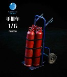 Two-Wheeled Dolly & Tanks Set (Blue Dolly)<BR>PRE-ORDER: ETA Q1 2021