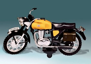 Sport Motorcycle (Yellow)