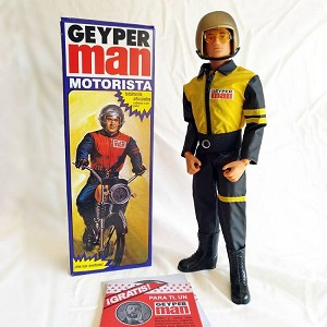Motorcycle Rider (Yellow/Black)