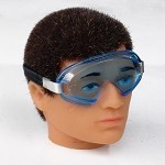 Goggles with Blue Lenses