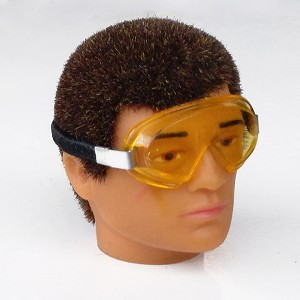 Goggles with Yellow Lenses