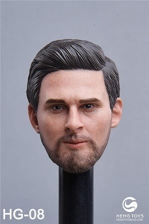Male Head Sculpt<BR>PRE-ORDER: ETA Q4 2019
