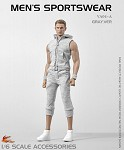 Men's Sportswear Set (Gray)<BR>PRE-ORDER: ETA Q1 2020