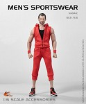 Men's Sportswear Set (Red)<BR>PRE-ORDER: ETA Q1 2020