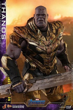 Thanos (Battle Damaged Version)<BR>PRE-ORDER: ETA March 2021