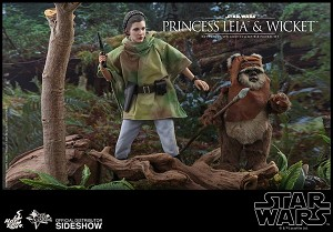 Star War Series: Princess Leia & Wicket