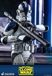 The Clone Wars: 501st Battalion Clone Trooper<BR>PRE-ORDER: ETA Q4 2021