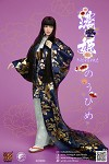 Nohime Clothing & Head Sculpt Set (Blue Uchikake)<BR>PRE-ORDER: ETA Q4 2020