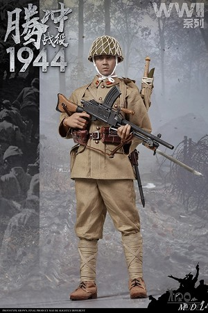 Japanese Army Machine Gunner (Battle of Tengchong)<BR>PRE-ORDER: ETA Q4 2019